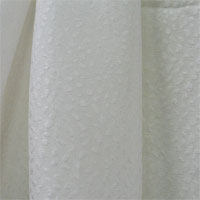 "Cloque ""Pebble"", 54"" - (000) Natural White"