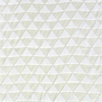 "Burnout Velvet, 45"", Triangles - (000) Natural White"