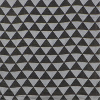 "Burnout Velvet, 45"", Triangles - (153) Gunmetal Grey"