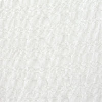 "Light Bubble Gauze, 60-62"" - (000) Natural White"